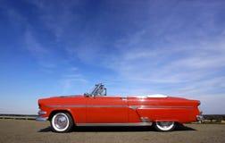 Rotes klassisches Auto Stockbild
