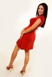 Rotes Kleid Stockbilder