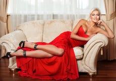 Rotes Kleid Lizenzfreies Stockfoto