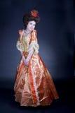 Rotes Kleid Stockfotografie