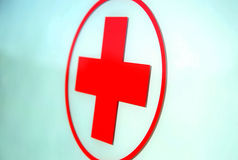 Rotes Kreuz Stockbild