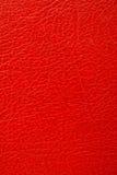 Rotes Leder Lizenzfreies Stockbild