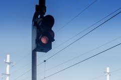 Rotes Licht Lizenzfreie Stockbilder