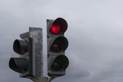 Rotes Licht des Herzens Lizenzfreie Stockbilder