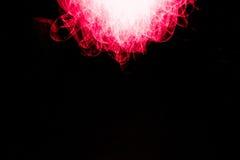 Rotes Licht-Malerei Stockfoto