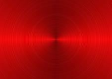 Rotes Metall ein Hintergrund Stockfotografie