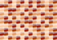 Rotes Mosaik Stockfotografie