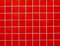 Rotes Mosaik Lizenzfreie Stockfotos