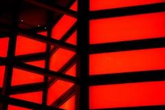 Rotes Neon Stockbilder