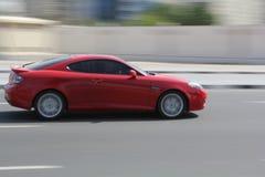 Rotes neues Auto Lizenzfreie Stockbilder