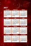 Rotes neues Year& x27; s Lizenzfreie Stockfotografie