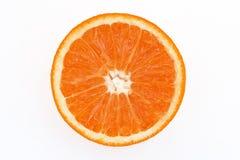 Rotes orange slince Lizenzfreies Stockbild