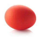 Rotes Osterei Stockbild