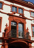 Rotes Palais Lizenzfreie Stockbilder