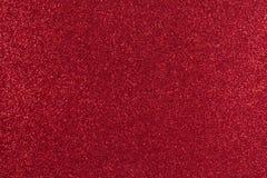 Rotes Papier mit glänzender Beschaffenheit Lizenzfreie Stockfotografie