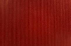 Rotes Papier mit Streifenmuster Lizenzfreie Stockbilder