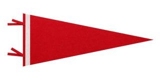 Rotes Penant Lizenzfreies Stockbild