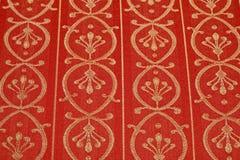 Rotes pflanzendes Muster Lizenzfreie Stockfotografie