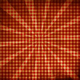 Rotes Picknickgewebe Lizenzfreie Stockfotografie