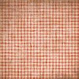 Rotes Picknickgewebe Lizenzfreie Stockbilder