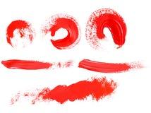 Rotes Pigment stock abbildung