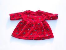 Rotes Puppekleid lizenzfreies stockfoto