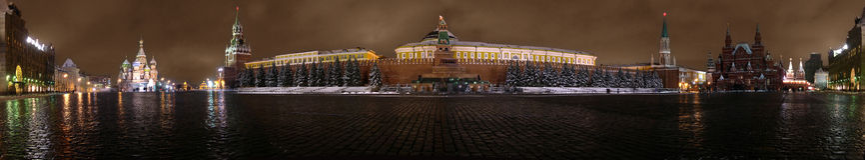 Rotes Quadrat Kremlin Lizenzfreies Stockbild