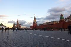 Rotes Quadrat in Moskau Russland Lizenzfreie Stockfotografie