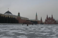Rotes Quadrat in Moskau, Russland lizenzfreie stockfotos