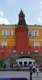 Rotes Quadrat, Moskau, Russland stockbild