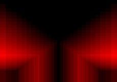 Rotes quadratisches Muster in der Farbe geometrisch vektor abbildung