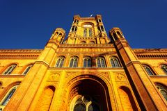 Rotes Rathaus Royalty-vrije Stock Afbeelding