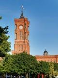 Rotes Rathaus Lizenzfreie Stockfotografie