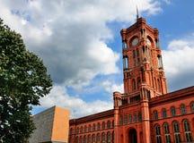 Rotes Rathaus, Berlim Imagens de Stock Royalty Free