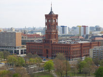 Rotes Rathaus, Berlin Royalty Free Stock Photography