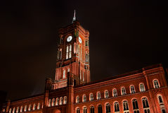 Rotes Rathaus, Berlin Stock Photos