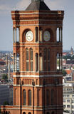 Rotes Rathaus Berlin Stock Images