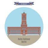 Rotes Rathaus, Berlin, Germany Stock Image