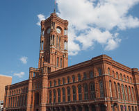 Rotes Rathaus in Berlin Royalty Free Stock Image