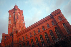 Rotes Rathaus Berlin Stock Photography