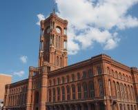 Rotes Rathaus em Berlim Imagem de Stock Royalty Free