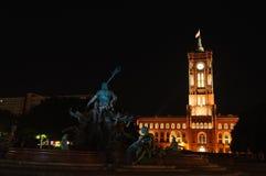 Rotes Rathaus Stock Photo