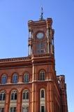 Rotes Rathaus/rotes Rathaus Stockfoto