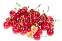 Rotes rohes Chery Stockbilder