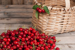 Rotes rohes Chery Lizenzfreies Stockbild