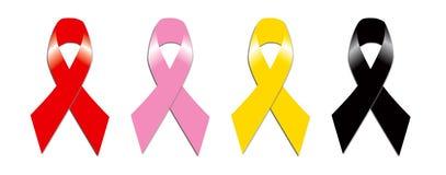 Rotes rosa Gelb und Trauerflor Stockbilder