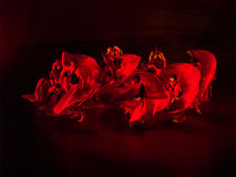Rotes rotes Rot Lizenzfreies Stockbild