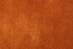 Rotes Sämischleder Stockfoto