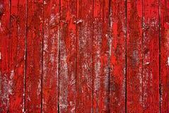 Rotes Scheunen-Wand-Abstellgleis Stockbild