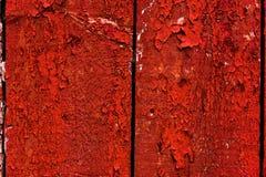 Rotes Scheunen-Wand-Abstellgleis Stockfoto